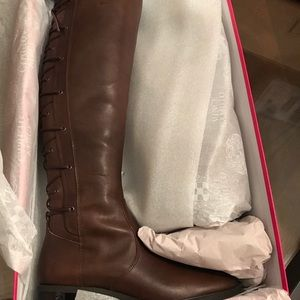 212c0719ded Vince Camuto Shoes - New Vince Camuto Palenda Lace up Back Riding Boots